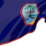 Постер, плакат: Illustration flags of Guam