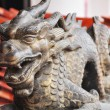 Stock Photo: Dragon statue