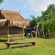 Bamboo Hut — Stock Photo