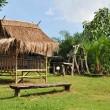 Bamboo Hut — Stock Photo