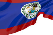 Vector Flags of Belize — Stock Photo