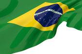 巴西的矢量标志 — 图库照片