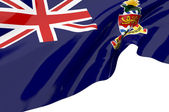 Vector Flags of Cayman Islands — Stock Photo