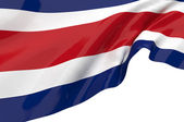 Vector Flags of Costa Rica — Stock Photo
