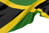 Vector Flags of Jamaica — Stock Photo