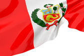 Vector Flags of Peru — Stock Photo