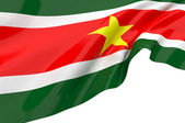 Vector Flags of Suriname — Stock Photo