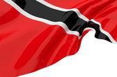 Vector bandeiras de trinidad e tobago — Fotografia Stock