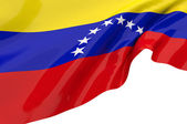 Vector Flags of Venezuela — Stock Photo