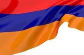 Illustration flags of Armenia — Stock Photo