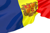 Vector Flags of andorra — Stock Photo
