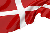 Vector Flags of Denmark — Stock Photo