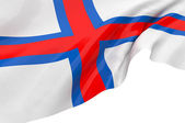 Vector Flags of Faroe Islands — Stock Photo