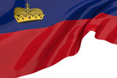 Vector Flags of Liechtenstein — Stock Photo