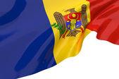Vector Flags of Moldova — Stock Photo