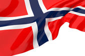 Vector Flags of Norway — Stock Photo