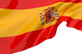 Vector Flags of Spain — Stock Photo