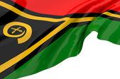 Illustration flags of Vanuatu — Stock Photo