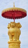 Gouden leeuw — Stockfoto