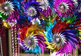 игрушка ветротурбины — Стоковое фото