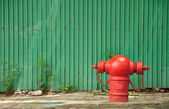 Fire Hydrant Red — Stock Photo