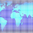 Global map of world — Stock Photo #12200569