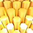 Gold bars abtract for background — Stock Photo
