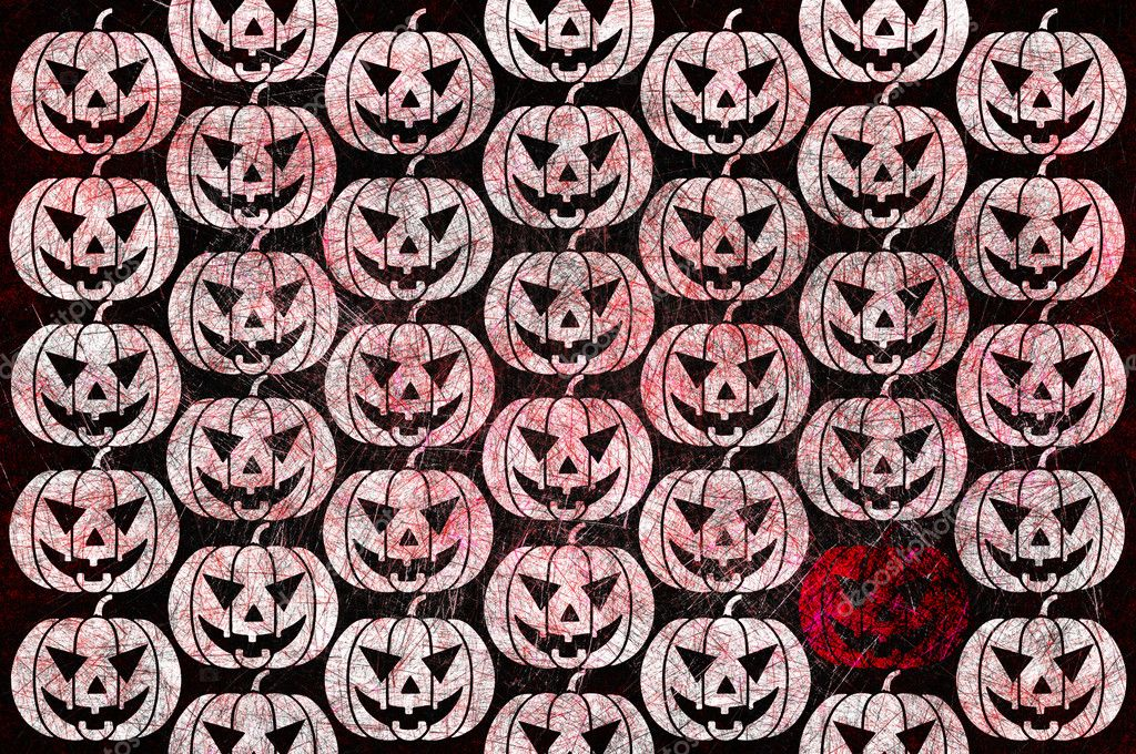 Grunge textured Halloween night background  Stock Photo #12242649