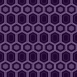 Seamless retro pattern - Stock Photo