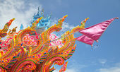 Chak-Phra Festival in Thailand — Stock Photo