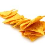 Mexican nachos — Stock Photo