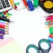 Schule-Bürobedarf — Stockfoto