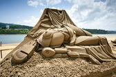 Nsect sand skulptur — 图库照片