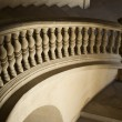 Stock Photo: Ancient Castle curved stairs