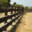 Royalty-Free Stock Photo: Wooden fence on ranch