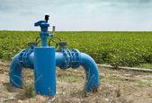 Irrigation systems — Stock Photo