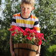 Young gardener — Stock Photo #10886115