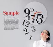 Czas w biurze — Zdjęcie stockowe
