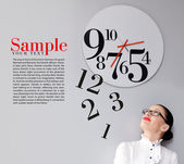 Tempo in ufficio — Foto Stock