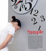 Time in office — Stock Photo