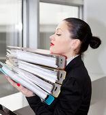 Mujer de oficina — Foto de Stock