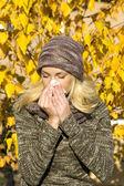 Season allergy — Stock Photo