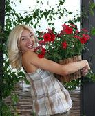 Jardinería de primavera — Foto de Stock