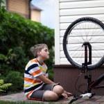 Bike repair — Stock Photo #11235667