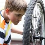 Bike repair — Stock Photo #11235691