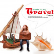 Dreams of traveling - Stock Photo