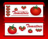 西红柿 — 图库矢量图片