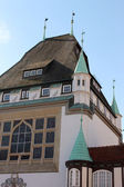 Half-timbered buildings - Celle, Germany — Stock Photo
