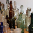 Old apothecary bottles — Stock Photo