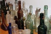 Old apothecary bottles — Stock Photo